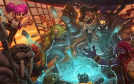 Hearthstone Heroes Of Warcraft Key Art