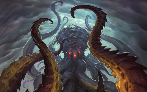 Hearthstone Whispers Of The Old Gods Art (click to view)