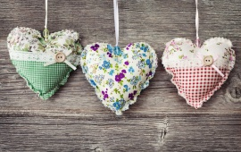 Hearts Pillows