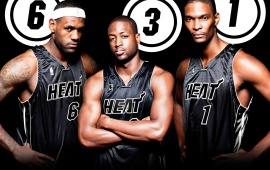 Heat Big Three