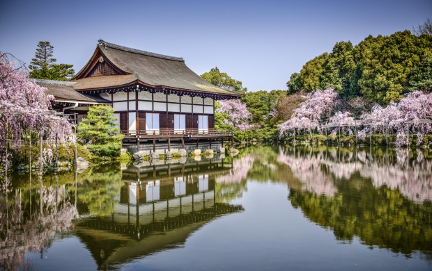 Heian Shrine Kyoto Japan (click to view)