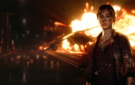 Helicopter Crash Beyond Two Souls