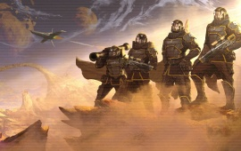 Helldivers Warrior