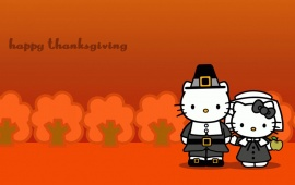 Hello Kitty And Thanksgiving