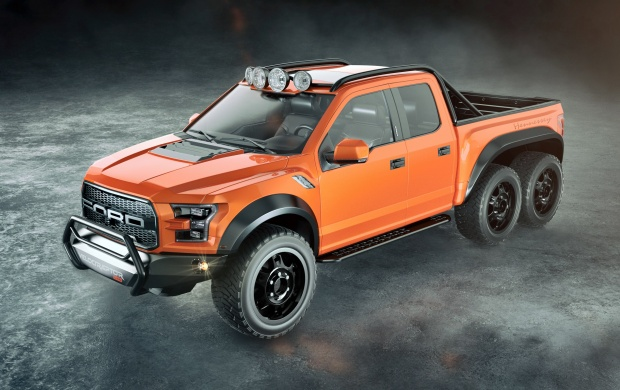 Hennessey VelociRaptor 6X6 2016 (click to view)