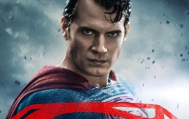 Henry Cavill Batman V Superman Poster