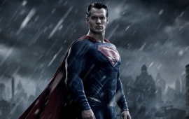 Henry Cavill's Batman v Superman: Dawn Of Justice 2016