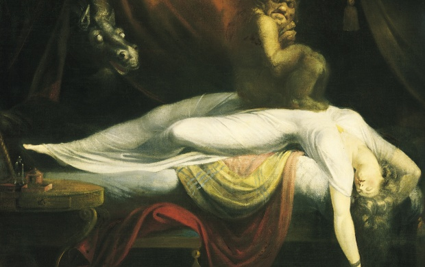 Henry Fuseli Nightmare (click to view)
