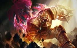 Heroes Of Newerth Solstice Artwork