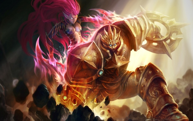 Heroes Of Newerth Solstice Artwork (click to view)