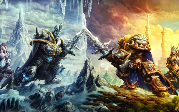 Heroes Of The Storm Battle Of Arthas And Sylvanas (click to view)