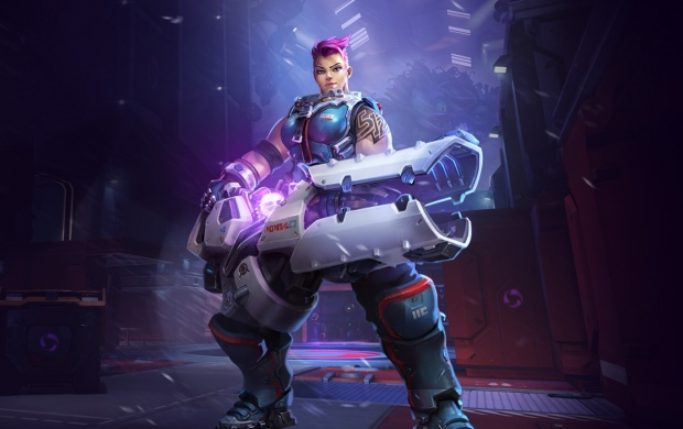 Heroes Of The Storm Zarya Portail (click to view)