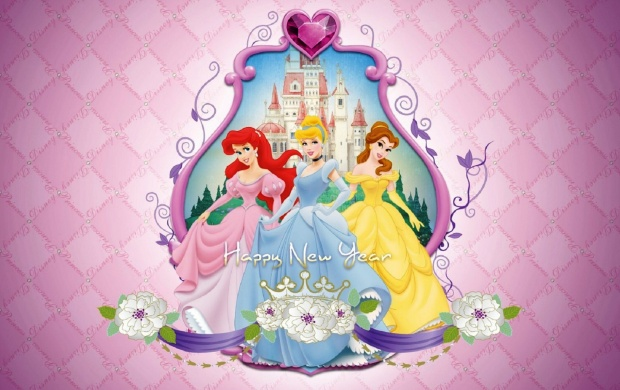 Heroine Of Disney Happy New Year (click to view)