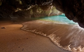 Hidden Beach Cave