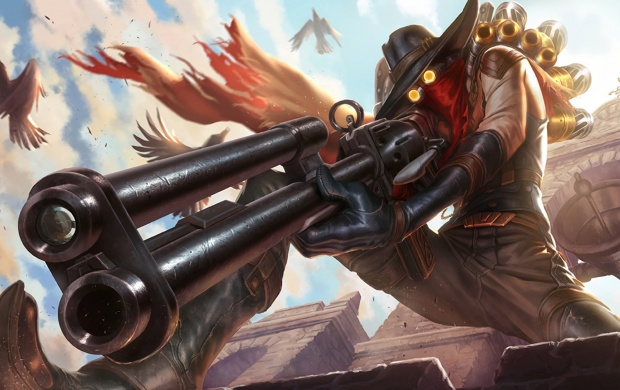 High Noon Jhin Splash League Of Legends (click to view)