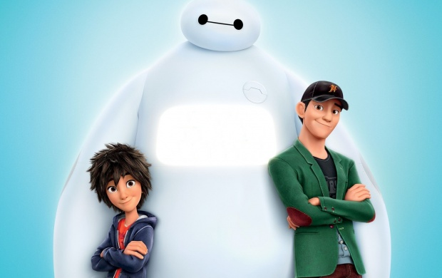Hiro Hamada And Baymax Poster (click to view)