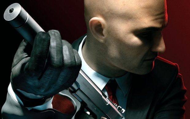Hitman Absolution With Gun (click to view)