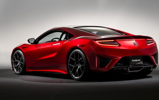 Honda NSX Rear 2015 (click to view)