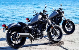 Honda Rebel 500 300 2017 Lifestyle
