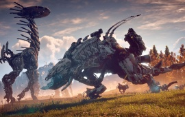 Horizon Zero Dawn 2017 Art