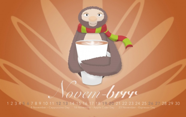Hot Drinks For Cold Sloths November 2016 (click to view)