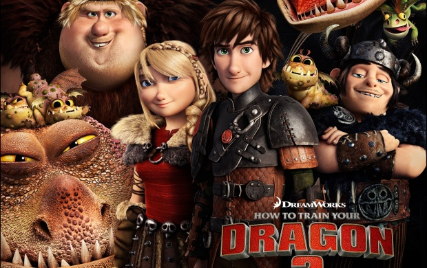 How To Train Your Dragon 2 Poster (click to view)