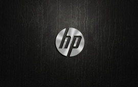 HP Metal Logo