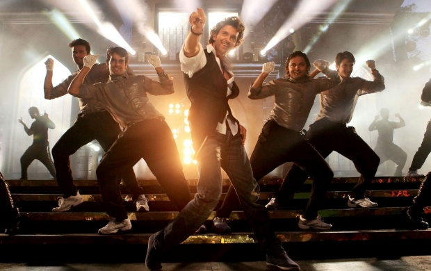 Hrithik Roshan Dance Floor In Bang Bang (click to view)