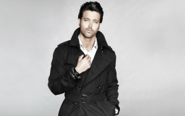 Hrithik Roshan In Black Suit