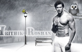Hrithik Roshan Shirtless