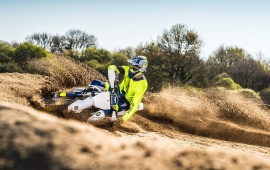 Husqvarna TC 250 First Riding 2016
