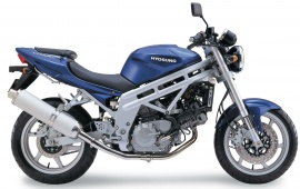 Hyosung GT650 Blue Bike