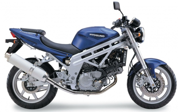Hyosung GT650 Blue Bike (click to view)