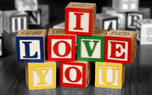 I Love You Cubes (click to view)