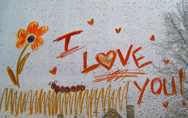 I Love You Drawing (click to view)