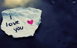 I Love You on Paper