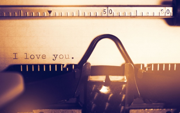I Love You Typewriter (click to view)