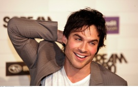 Ian Somerhalder Smiley Face