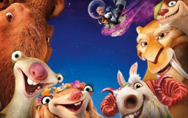Ice Age Collision Course 2016 Characters