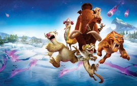 Ice Age Collision Course 2016 Poster