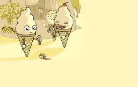 Ice Cream Eats Humans