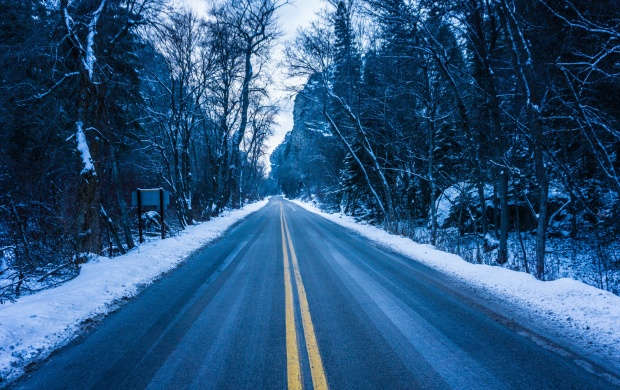 Icy Winter Road (click to view)