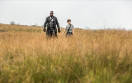 Idris Elba And Tom Taylor in The Dark Tower 2017