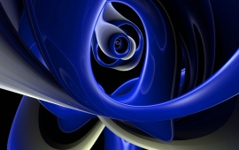 Impressive Abstract Blue 3D