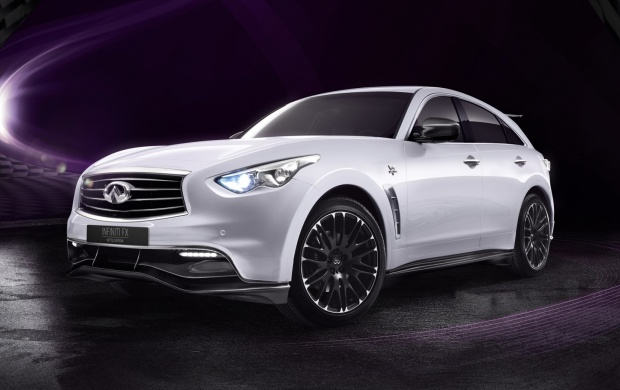 Infiniti FX Sebastian Vettel Car (click to view)