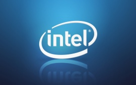 Intel Logo Blue Reflection