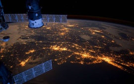 International Space Station Earth
