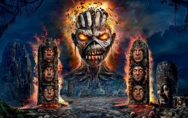 Iron Maiden English Heavy Metal Band