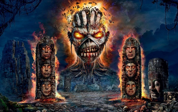 Iron Maiden English Heavy Metal Band (click to view)
