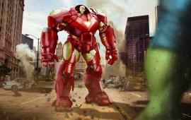 Iron Man And Hulk Avengers Age Of Ultron